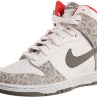 Amazon.com: WMNS NIKE DUNK HIGH SKINNY WHITE/SUNBURST//MEDIUM GREY 429984-102: Shoes