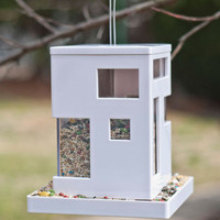 Ahead of the Current Bird Feeder | Mod Retro Vintage Pet Accessories | ModCloth.com