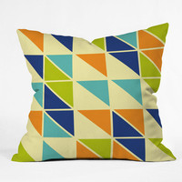 DENY Designs Home Accessories | Irena Orlov Triangles 1 Throw Pillow