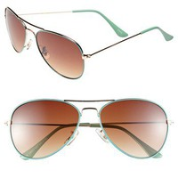 Icon Eyewear &#x27;Helen&#x27; Aviator Sunglasses | Nordstrom