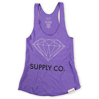 Diamond Supply Girls Orchid Purple Tank Top