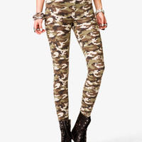 Camo Print Leggings | FOREVER21 - 2042056685