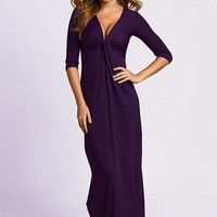 Nicole Knot Maxi Dress