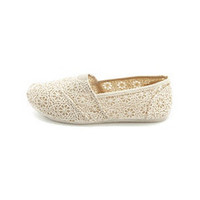 Crochet Wrap Pleated Flat: Charlotte Russe