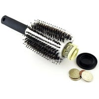 NEW Hidden Hair Brush Stash Safe Can Diversion Secret Spy Security hairbrush