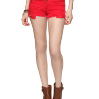 Low-Rise Denim Shorts | FOREVER21 - 2011409891