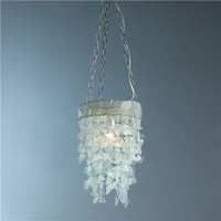 Seaglass Curtain Ceiling Light - Shades of Light