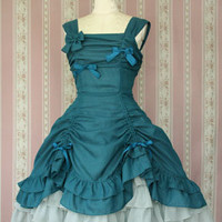 Fairy Check Doll dress