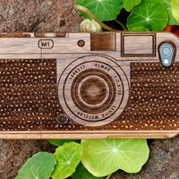 Photojojo&#x27;s Wood Camera iPhone Case - The Photojojo Store!