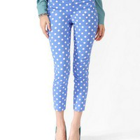 Polka Dot Ankle Pants | FOREVER 21 - 2030187795