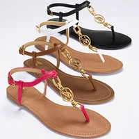 Monogram Flat Sandal - VS Collection - Victoria's Secret