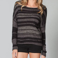 FULL TILT Marled Stripe Womens Sweater