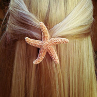 Starfish Hair Barrette