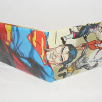 Comic Book Wallet// Superman and the Legion of Super-Heroes