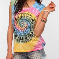 Le Shirt Zodiac Tie-Dye Muscle Tee