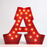 Urban Outfitters - Marquee Alphabet Light - Clear