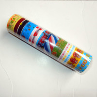 Sample Pack of Washi Tape, 10 Rolls