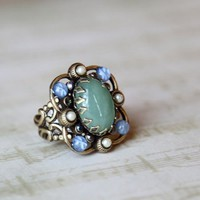 victorian cocktail ring by Ollipop