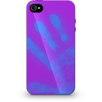 Xtrememac Exclusively Formulated Color Changing Tuffwarp Shift Case IPP-MO5-43 for Iphone 4/4s- Purple to Blue: Cell Phones & Accessories
