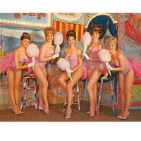 Showgirls, Retro Premium Poster