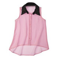 D-Signed Girls&#x27; Button Down Shirt -