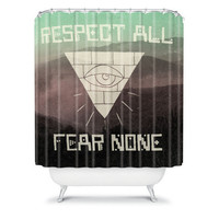 DENY Designs Home Accessories | Wesley Bird Fear None Shower Curtain