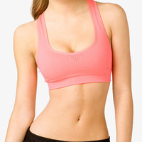 Medium Impact - Perforated Sports Bra
