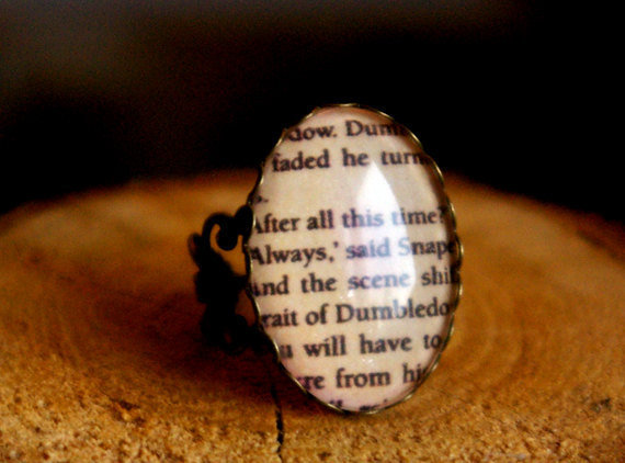 Harry Potter Snape quote adjustable vintage by SilverMangoShop