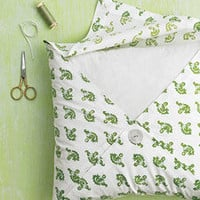 Napkin-Folded Pillowcases - Martha Stewart Crafts