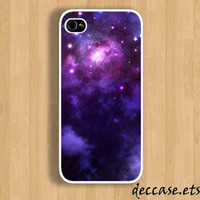 IPHONE 5 CASE - nebula - iPhone 4 case,iPhone 4S case,iPhone caseHard Plastic Case Rubber Case