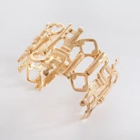 International Key Cuff | Jessica Ricci Jewelry