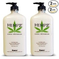 Hempz Herbal Moisturizer 17 Oz Bottle