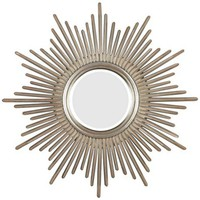 Sunburst Reflections 38&quot; High Wall Mirror - #T5017 | LampsPlus.com