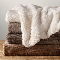 Luxe Faux Fur Blanket