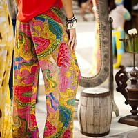 Tipsy Pant ~ Nola Paisley | Show Me Your Mumu