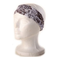 Amazon.com: Silly yogi floral mix headband with lurex-Brown-One size: Clothing