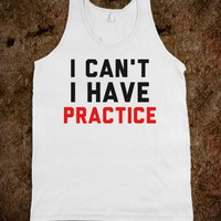 I Can't I Have Practice - Text First