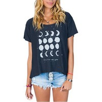 Billabong Moon Dance Tee - Off Black - J9112MOO				 | 
