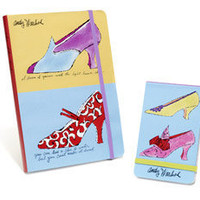 MoMA Store - Warhol Shoes Journal and Notepad