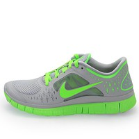 Nike Free Run+3 Womens Running Shoes