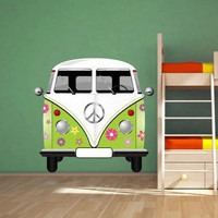 Volkswagen van decal for housewares