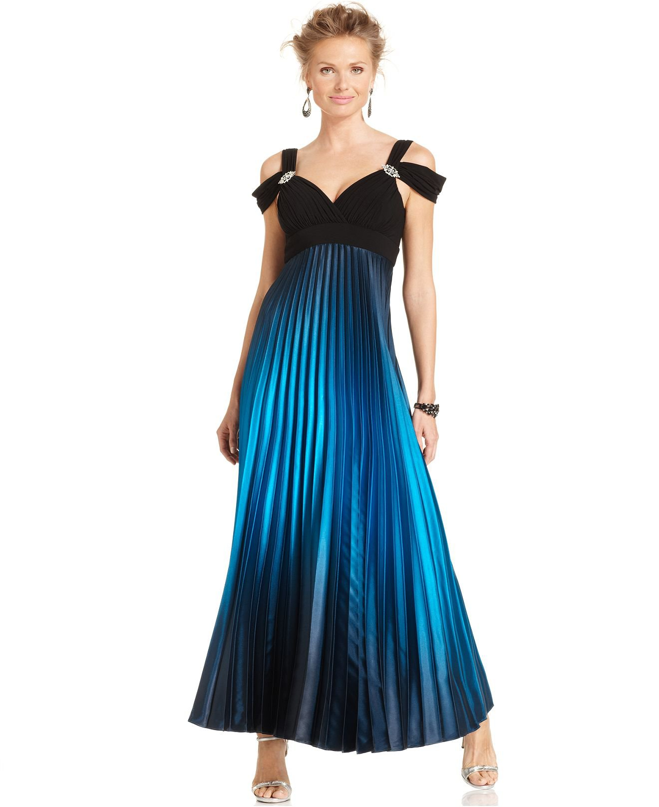 on detail naf maternity evening wear barns list maxi dresses dress blue strapless barn sale