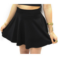 Black Skater Skirt | VidaKush