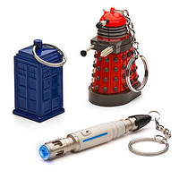 ThinkGeek :: Doctor Who Keychains