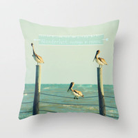 Wanderlust Throw Pillow by RDelean