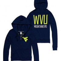 West Virginia University Perfect Full Zip Hoodie