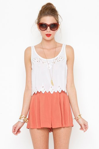 Long Silence Shorts  in  Clothes Bottoms Shorts at Nasty Gal