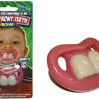 BUCK TEETH PACIFIER