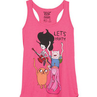 Adventure Time Buddyback Tank