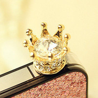 Rhinestone  Iphone 4/4s/5Anti Dust Plug